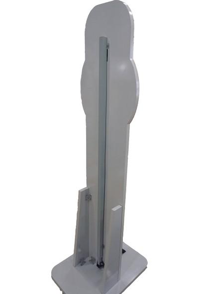 Prosibo Ayak Basmalı Dezenfektan Standı 125 x 30 Mdf