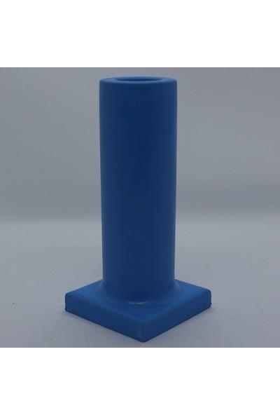 El Yapımı Beton Tütsülük Gökyüzü Mavi