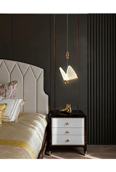 Burenze Elegance Kelebek LED Avize Harika Görsellik