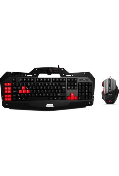 Everest DLK-5110 Klavye +Everest Sgm-X7 Pro Oyuncu Mouse +Gaming Mouse Pad