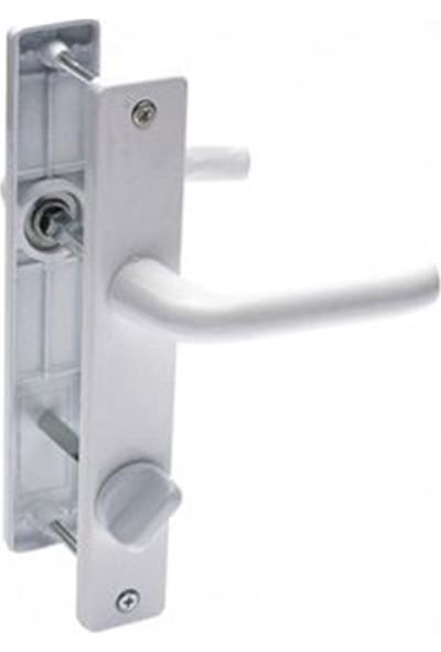 Flaş Group Pvc Kapı Pencere Kolu Mini Wc Kapı Kolu Balkon Tuvalet Wc Kapı Kolu