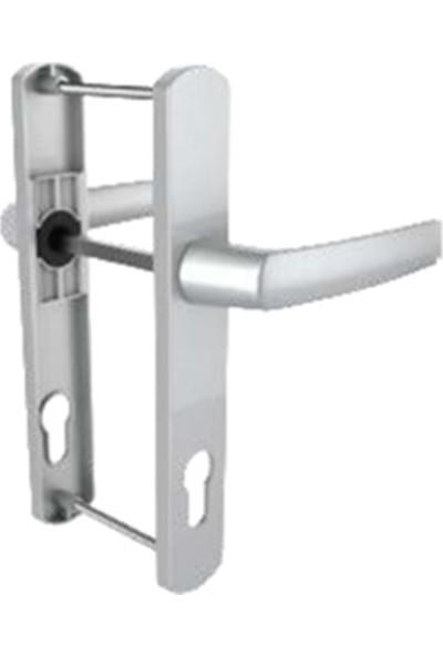 Flaş Group Roto Pvc Kapı Pencere Kolu Barelli Kapı Kolu Gri