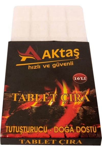 Aktaş Tablet Çıra- 16'lı Mangal Soba Tutuşturucu