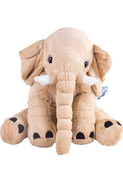 Furkan Toys Furry Uyku Arkadaşım Fil FR59120 Bej