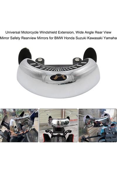 Buyfun Evrensel Motosiklet Cam Uzatma Geniş Açı Dikiz Aynası