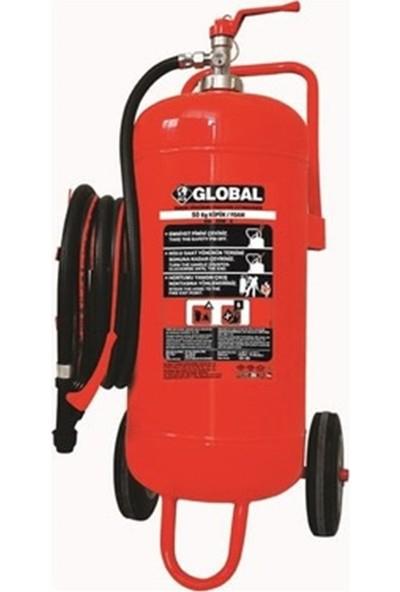 Global 50 kg Köpüklü Yangın Söndürme Cihazı