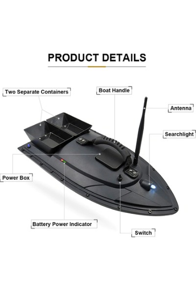 Flytech Balık Yemleme Botu Rc