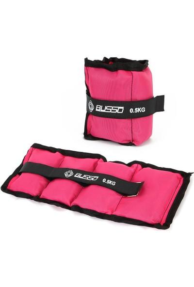 Busso BS30 Busso El Ayak Ağırlığı Pembe 0,5kg*2 Adet