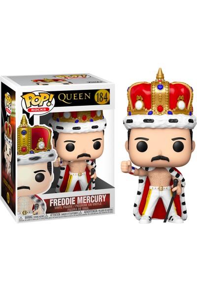 Funko Pop Queen Freddie Mercury King Figür