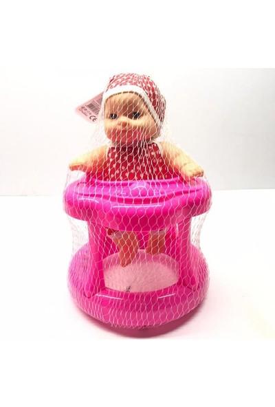 Efe Oyuncak Fileli Yürüteçli Bebeğim Kırmızı Elbiseli EFE-843