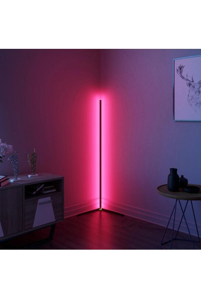 Ekon Dekoratif Telefon Kontrollü LED LAMBADER(256 Renk-Sese Duyarlı)