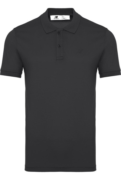 New Balance Erkek Antrasit Polo Yaka T-Shirt MPT1105-ANT