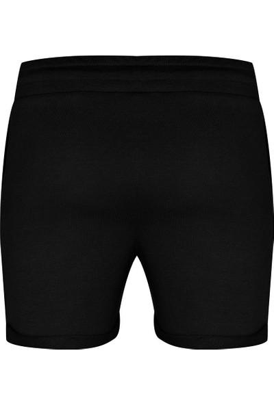 New Balance Kadın Siyah Spor Şort WPS1104-BK