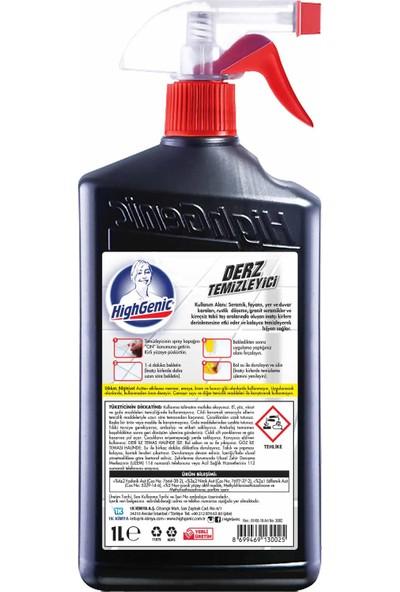 HighGenic Derz Temizleyici ( Endüstriyel ) 1000 ml