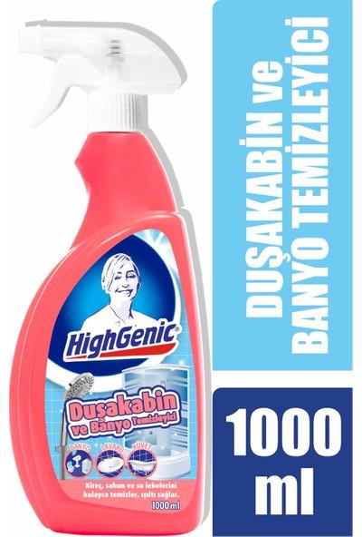 HighGenic Duşakabin ve Banyo Temizleyici 1000 ml