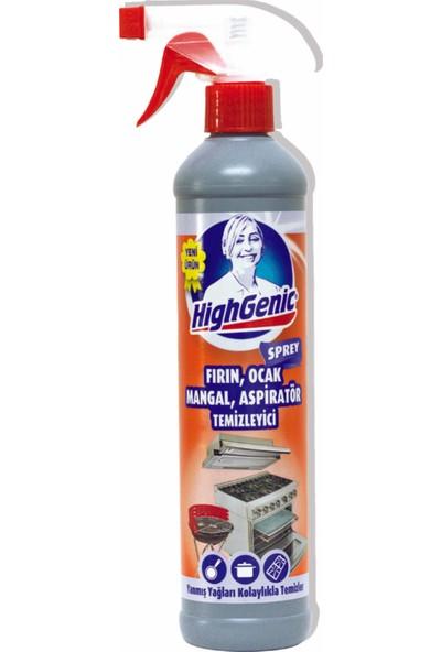 HighGenic Fırın, Ocak, Mangal, Aspiratör Temizleyici ( SPREY ) 500 ml