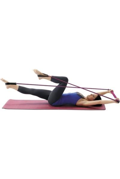 Cosfer Full Pilates Seti ( 15 Parça ) / Dambıl, Pilates Studio - Çemberi - Topu - Bandı, Twister Vb