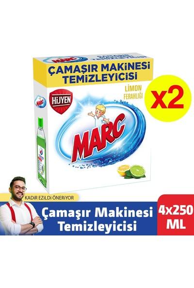 Marc Çamaşır Makinesi Temizleyici Limon Ferahlığı 250 ml x 4'lü