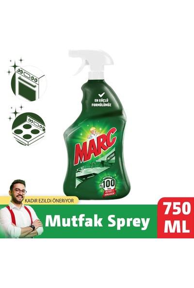 Marc Mutfak Temizleyici Yağ Çözücü Sprey 750 ml