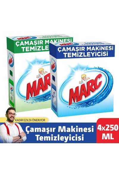 Marc Çamaşır Makinesi Temizleyici Regular 2 x 250 ml + Çam ve Okaliptus Ferahlığı 2 x 250 ml