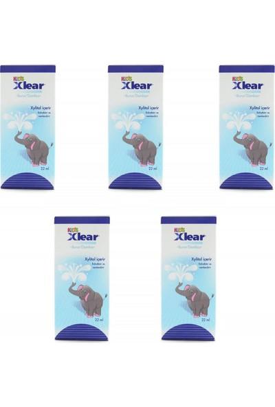 Xlear Burun Damlası Kids 22 ml x 5 Adet