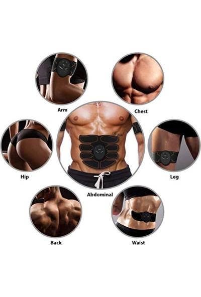 Cooltech Six Pad Abs Fitness Karın Kası Vücut Kas Geliştirici Egzersiz Spor Aleti Elektronik Kemer