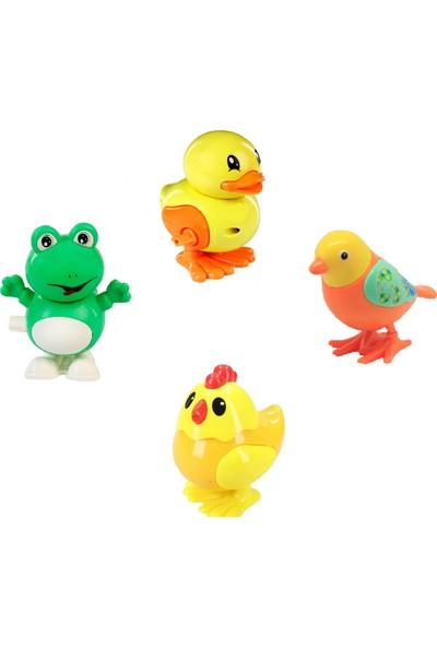 Kurmalı Ördek + Kuş + Civciv + Kurbağa