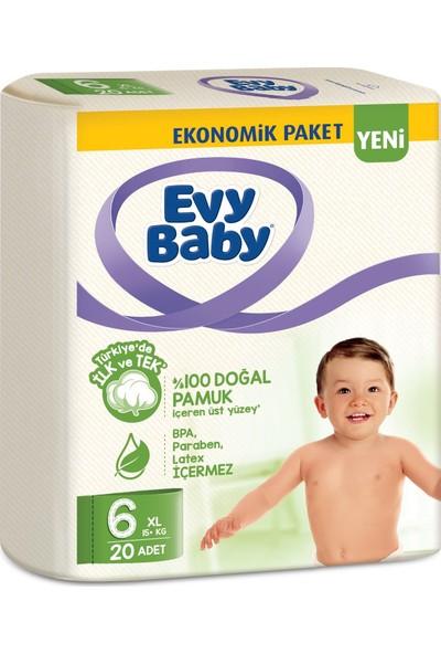 Evy Baby Bebek Bezi 6 Beden Xl 40'lı