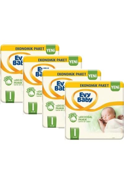 Evy Baby Yenidoğan Bebek Bezi 1 Beden Yeni Paket 216'LI