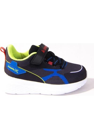 Kınetıx Porter Siyah Mavi Günlük Erkek Çocuk Spor Ayakkabı