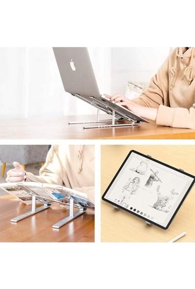 Erltek Stand MacBook Notebook Katlanabilir Metal Standı