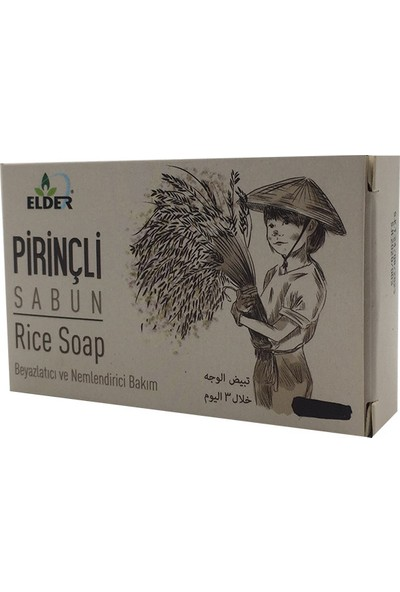 Elder Pirinçli Sabun 70 gr