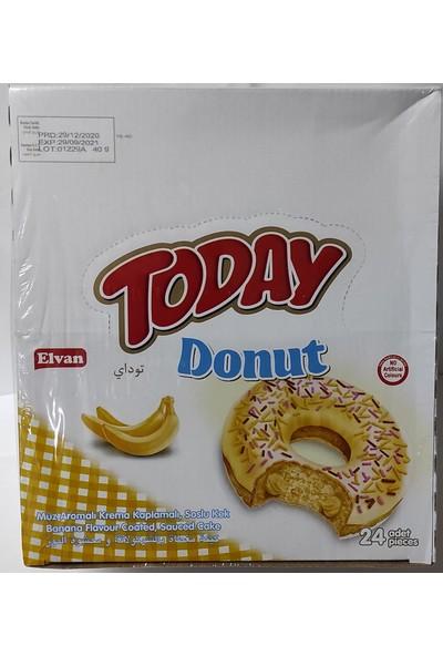 Elvan Donut Kek 50 gr Muzlu 1 x 24
