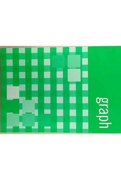 Erl 123068 A4 80 Yaprak Karton Kapak Kareli Bloknot