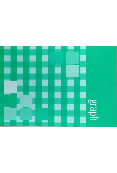 Erl 123072 A6 80 Yaprak Karton Kapak Kareli Bloknot