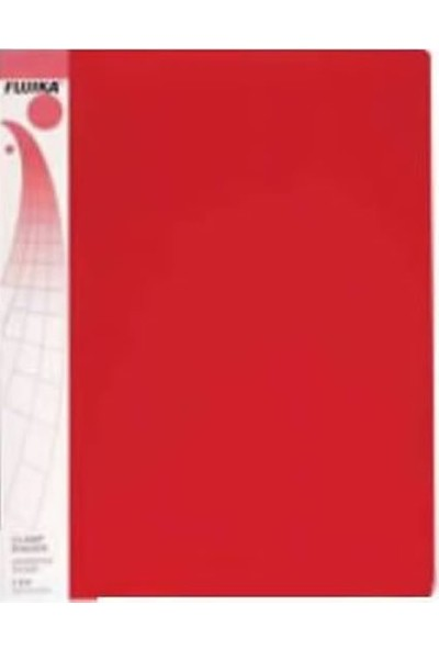 Fujika Üstten Cepli Dosya 10'lu Kırmızı