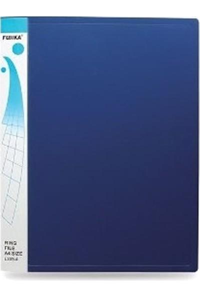 Fujika Üstten Cepli Dosya 10'lu Mavi