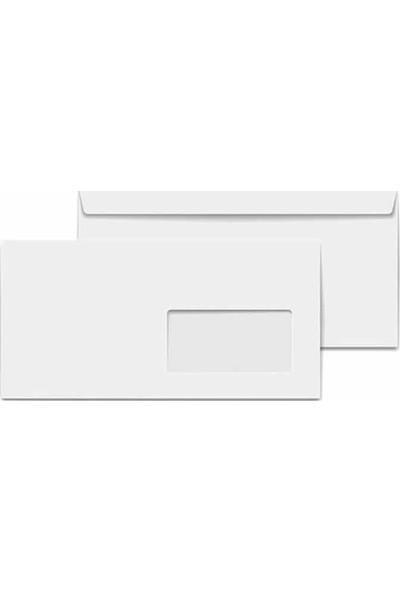 Oyal Şeffaf Pencereli Buklet Zarf 114 x 162 cm 80 gr 500'lü