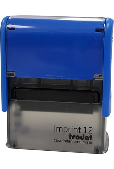 Trodat Imprint 10 Mavi Gövde Mavi Keçe Kaşe
