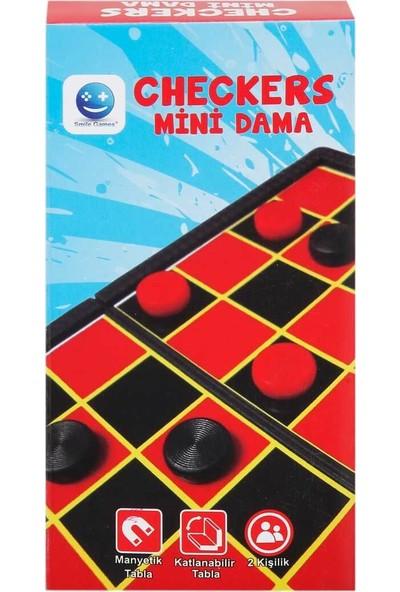 Smile Games Mıknatıslı Mini Dama Oyun Seti