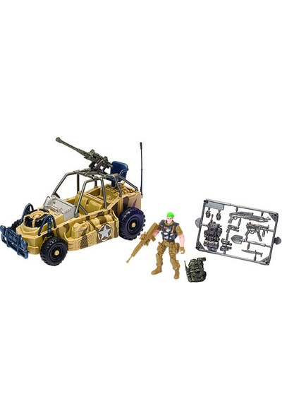 Soldier Vıı Offroad Vehicle Oyun Seti