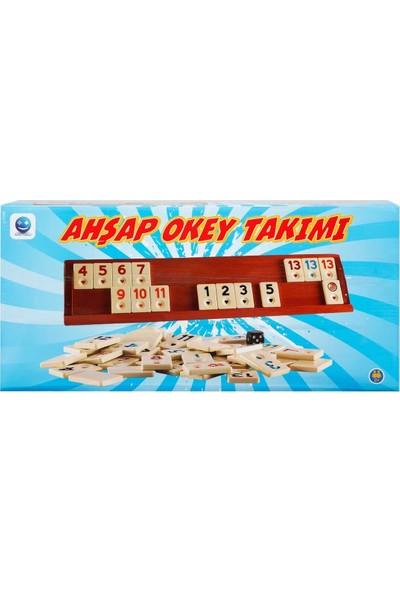Smile Games Ahşap Okey Takımı