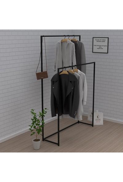 Kenz Life Larose Askılık Elbise Askısı Laleli Syh Konfeksiyon Dolabı