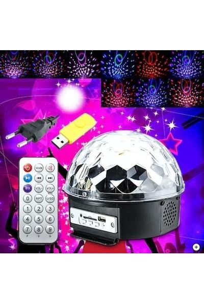 Mofy's LED Disko Topu USB Bluetooth Hoparlör