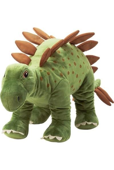 Joysmart Yeşil Dinazor Otçul Stegosaurus Yumuşak Peluş Oyuncak 75 cm