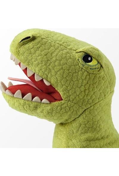 Joysmart Yeşil Dinazor Etçil Tyrannosaurus Rex Yumuşak Peluş Oyuncak 44 cm