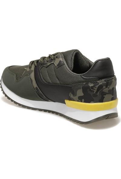 Yellow Kids Potrep Haki Erkek Çocuk Spor Ayakkabı
