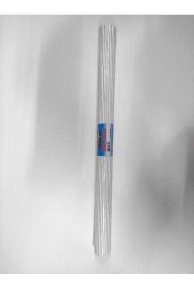 Nova Color Oluklu Mukavva 50 x 70 cm Beyaz