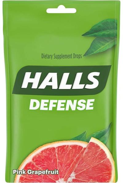 Halls Defense Pink Grapefruit Vitamin C Desteği 30 Drops
