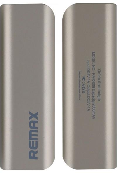 Remax RMX-008 2600 Mah 1 Çıkışlı Taşınabilir Powerbank